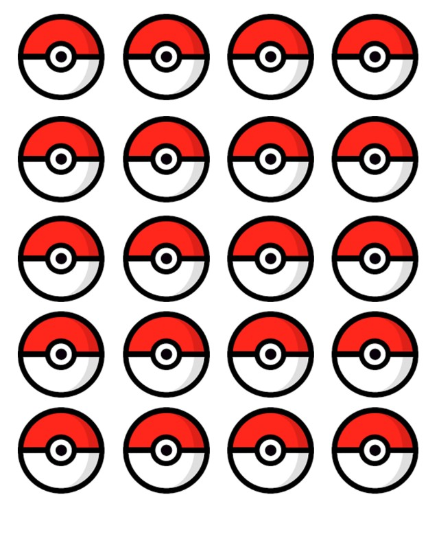 Stupendous image intended for pokeball printable